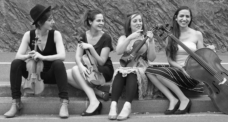 Quatuor Zaïde • ECMA-Ensemble © unbenannt