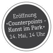 Bei der Eröffnung «Counterpoints -Kunst im Park» am Sonntag,14. Mai, ab 14 Uhr, werden drei neue temporäre Skulpturen im Schlosspark eingeweiht.