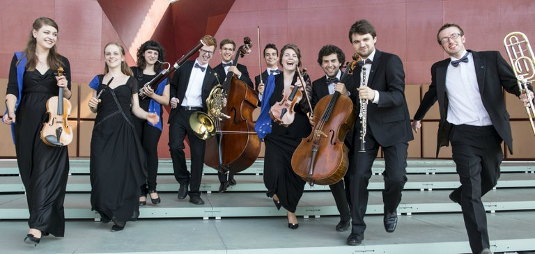 Pressefotos des European Music Campus und European Union Youth Orchestra (EUYO)