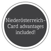 Free entrance with the Niederösterreich-Card