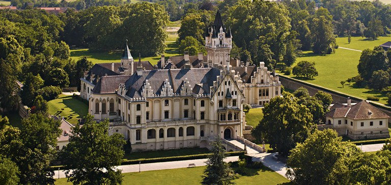 Grafenegg is the most important castle complex of Romantic historicism in Austria.