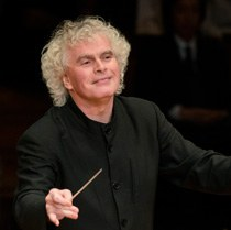 Sir Simon Rattle • conductor ©Haenel / Berliner Philharmoniker