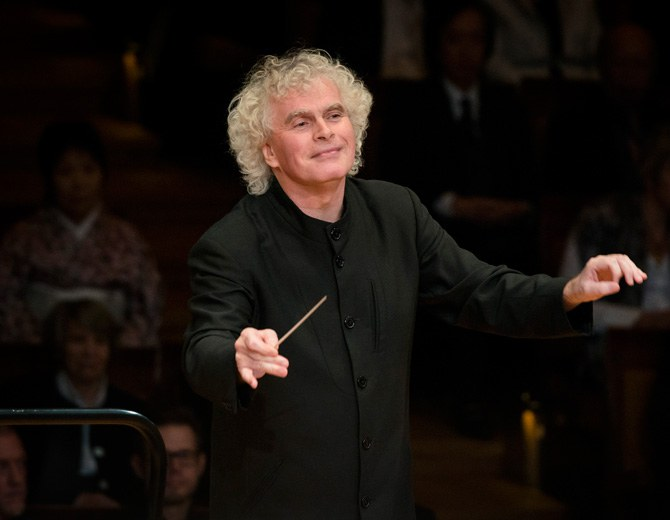 Sir Simon Rattle • conductor © Haenel / Berliner Philharmoniker