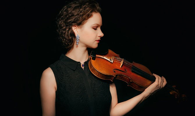 Hilary Hahn · violin © Michael Patrick O'Leary