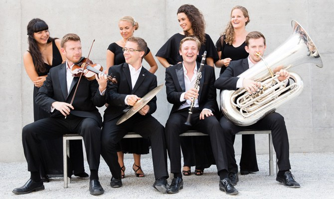 Members of the European Union Youth Orchestra · ensemble © Sebastian Philipp