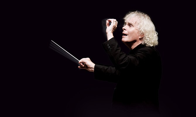 Sir Simon Rattle © Oliver Helbig