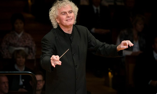 Sir Simon Rattle © Stefan Rabold